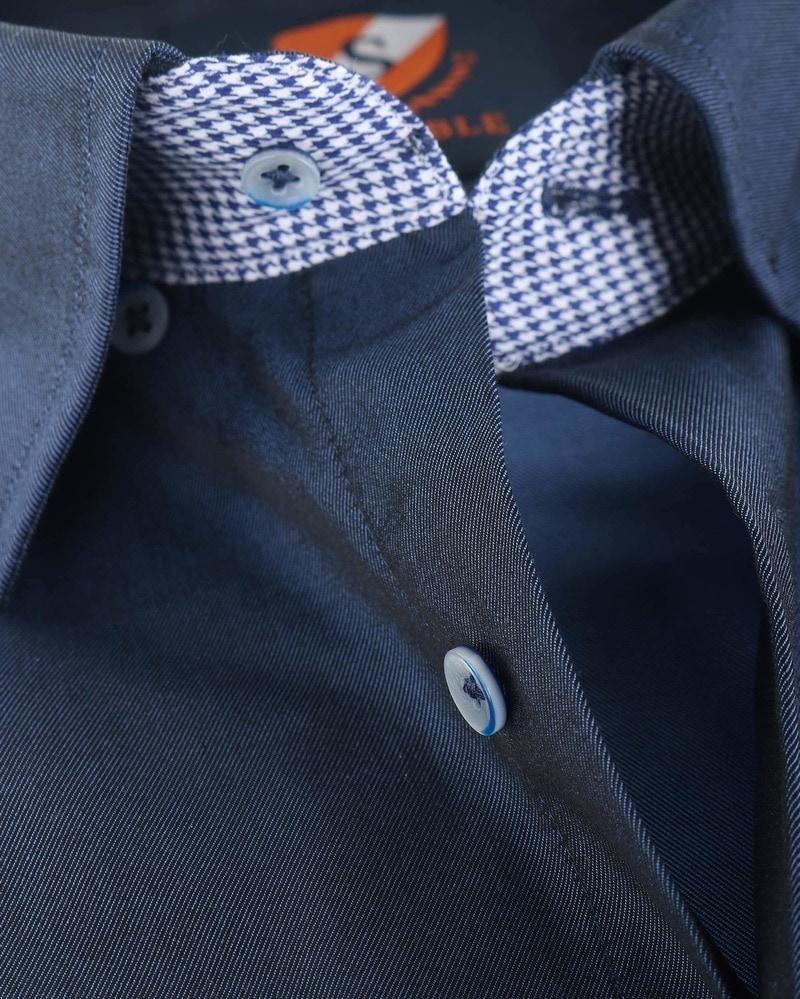 Suitable Overhemd Donkerblauw 145-3 foto 3