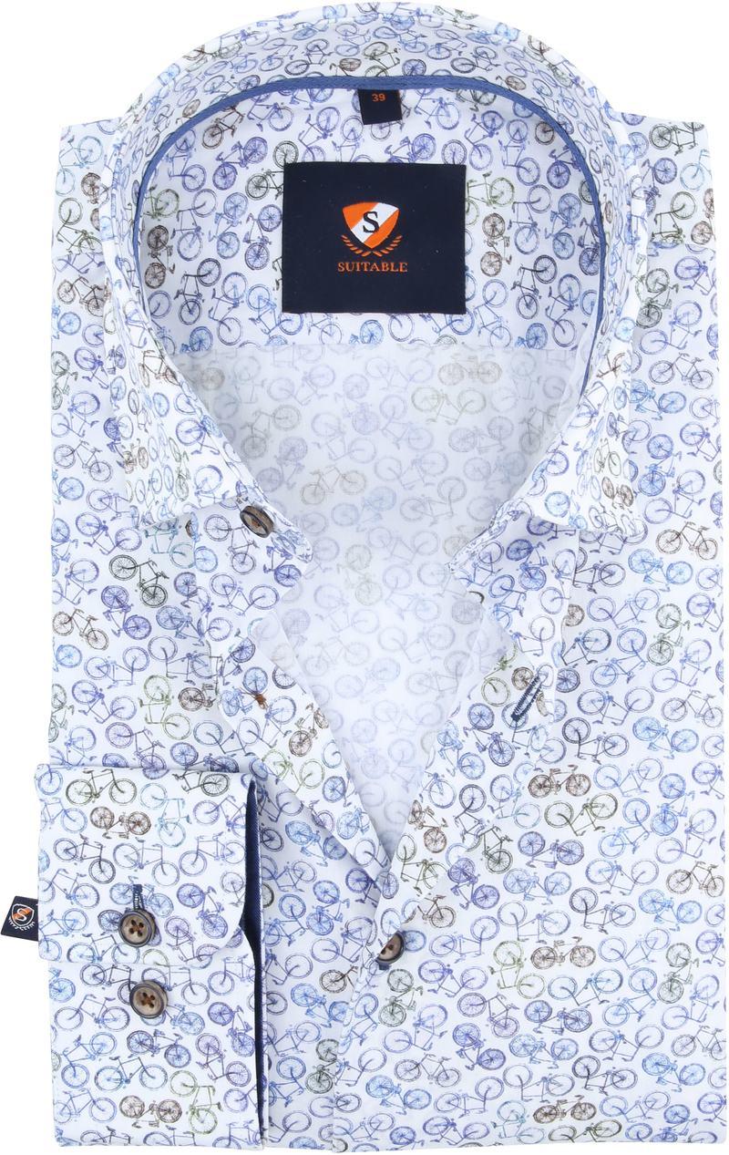 Suitable Overhemd Fietsen foto 0