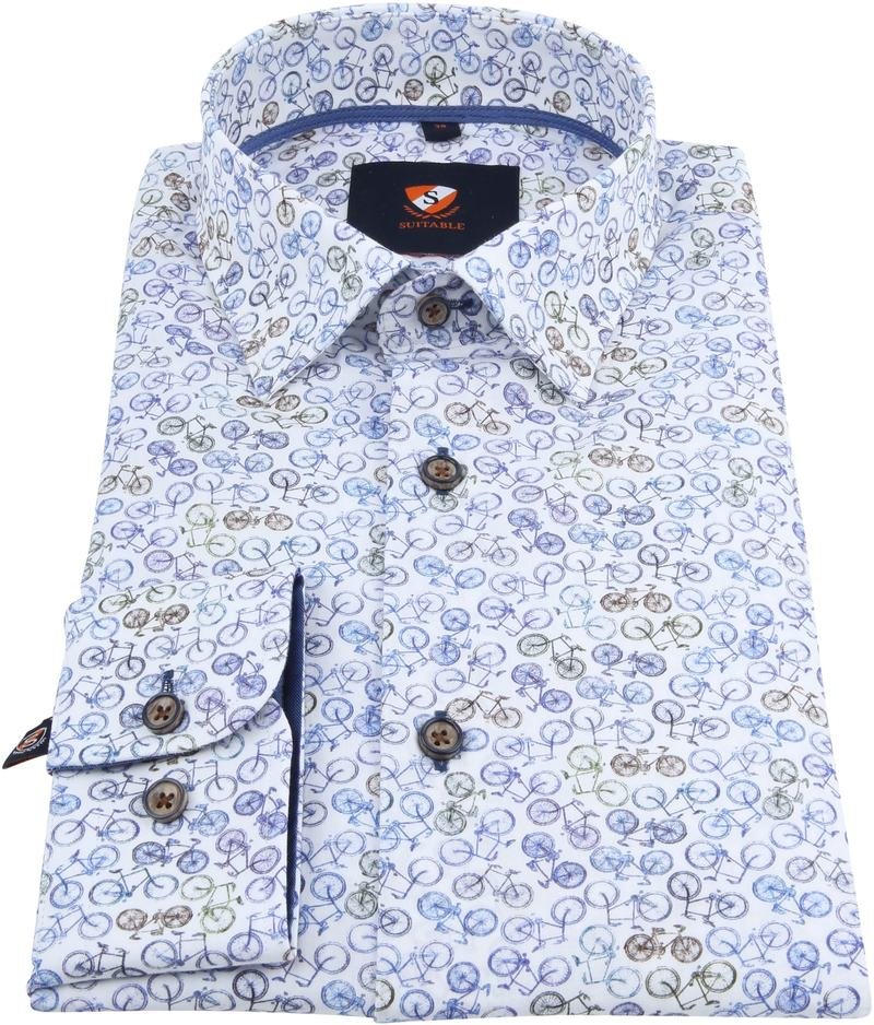 Suitable Overhemd Fietsen foto 2