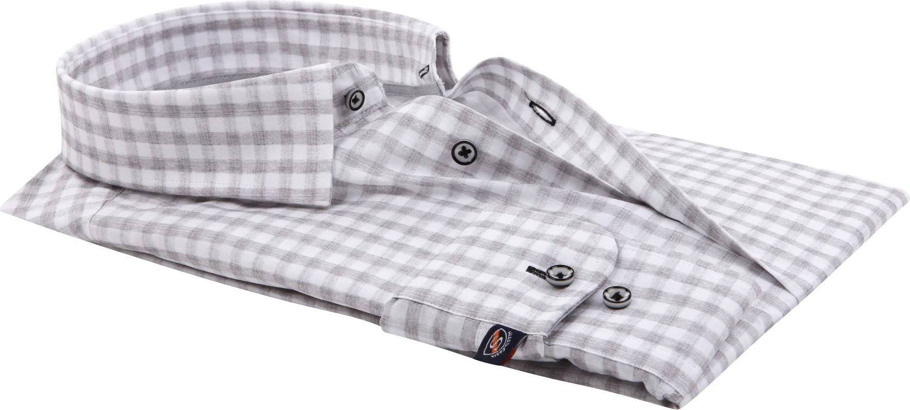 Suitable Overhemd Grey Check foto 2