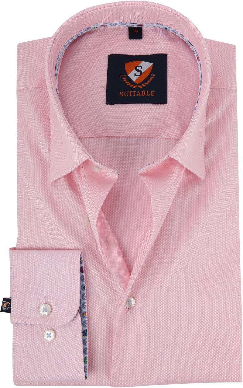 Suitable Overhemd HBD Roze foto 0