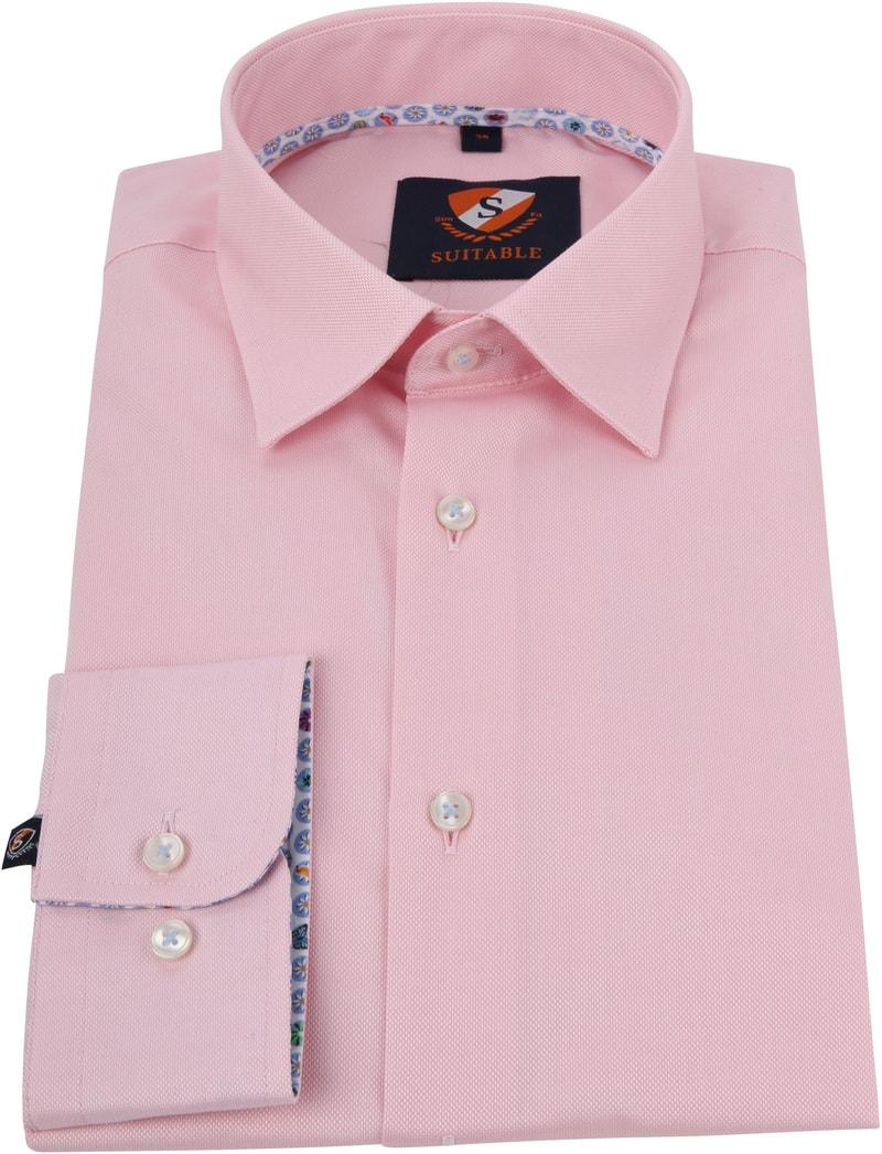 Suitable Overhemd HBD Roze foto 2