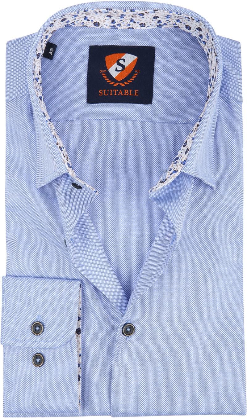Suitable Overhemd HBD Wesley Blauw foto 0