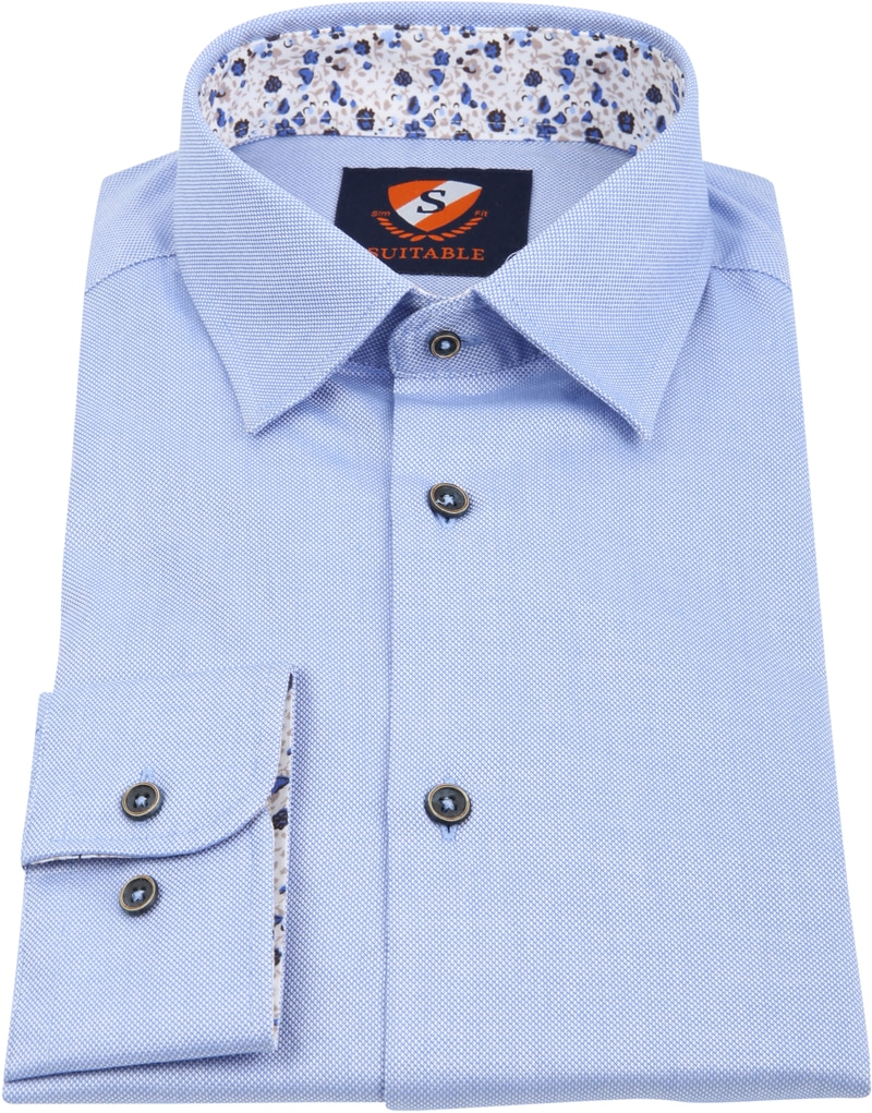 Suitable Overhemd HBD Wesley Blauw foto 2