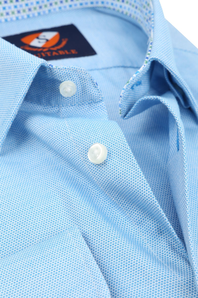 Suitable Overhemd HBD Wesley Lichtblauw foto 1