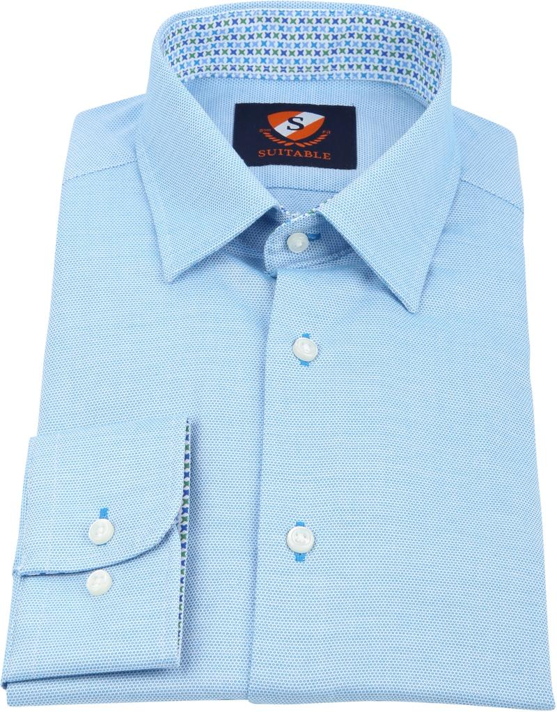 Suitable Overhemd HBD Wesley Lichtblauw foto 2