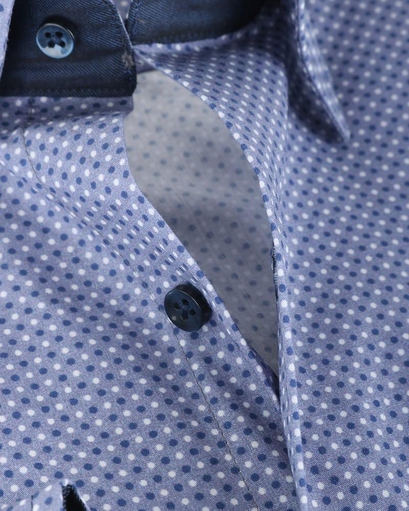 Detail Suitable Overhemd Indigo Dots 143-4