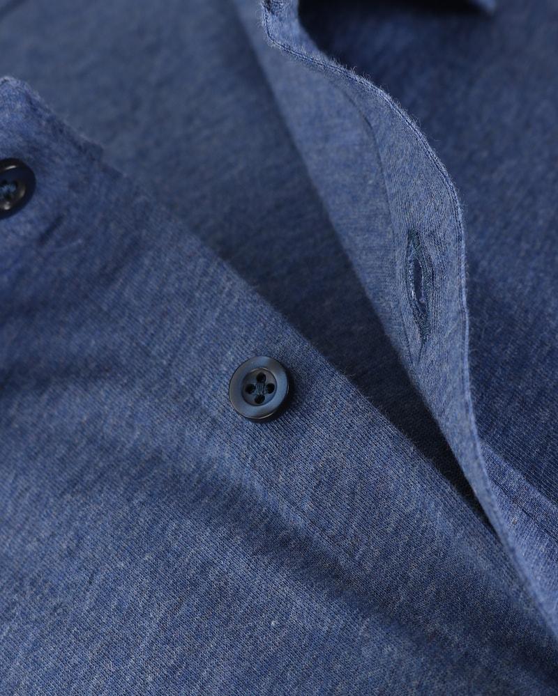 Suitable Overhemd Jersey Blauw foto 1