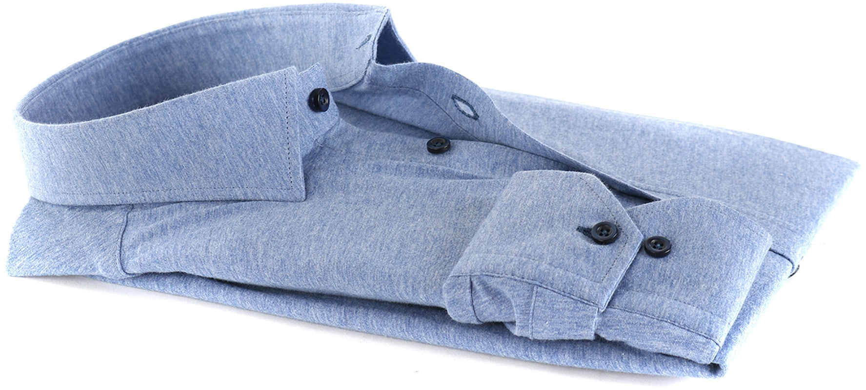 Suitable Overhemd Jersey Lichtblauw foto 3