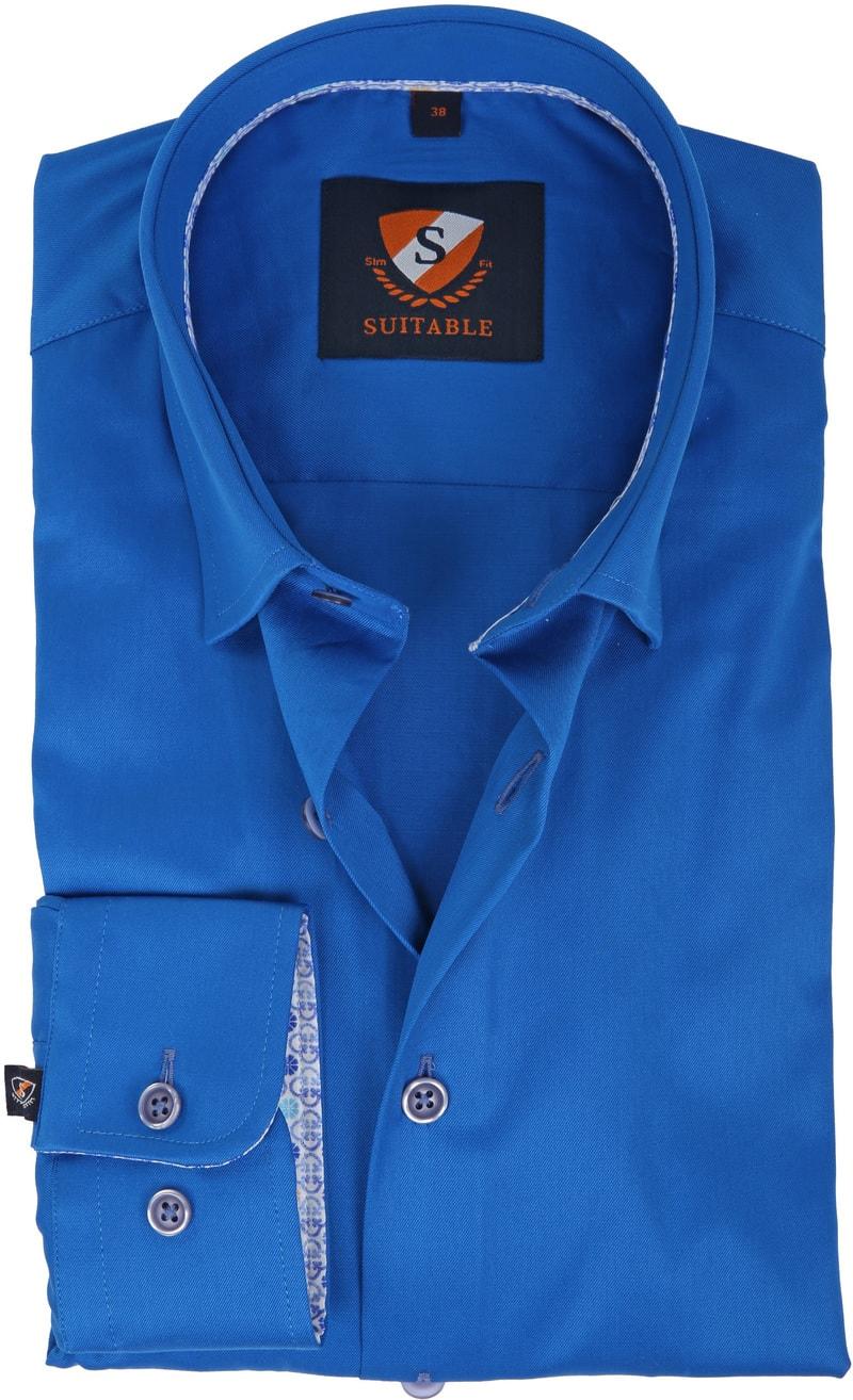 Suitable Overhemd Kobalt 181-3 foto 0