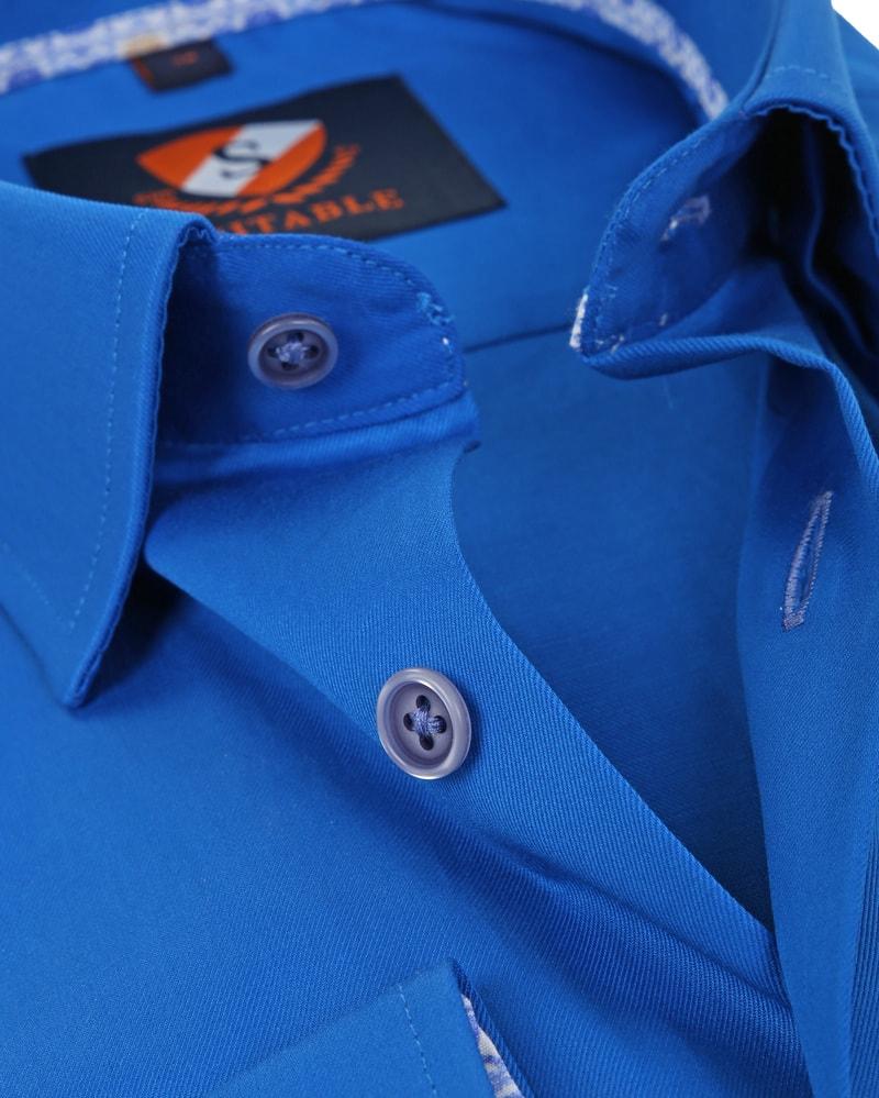 Suitable Overhemd Kobalt 181-3 foto 1