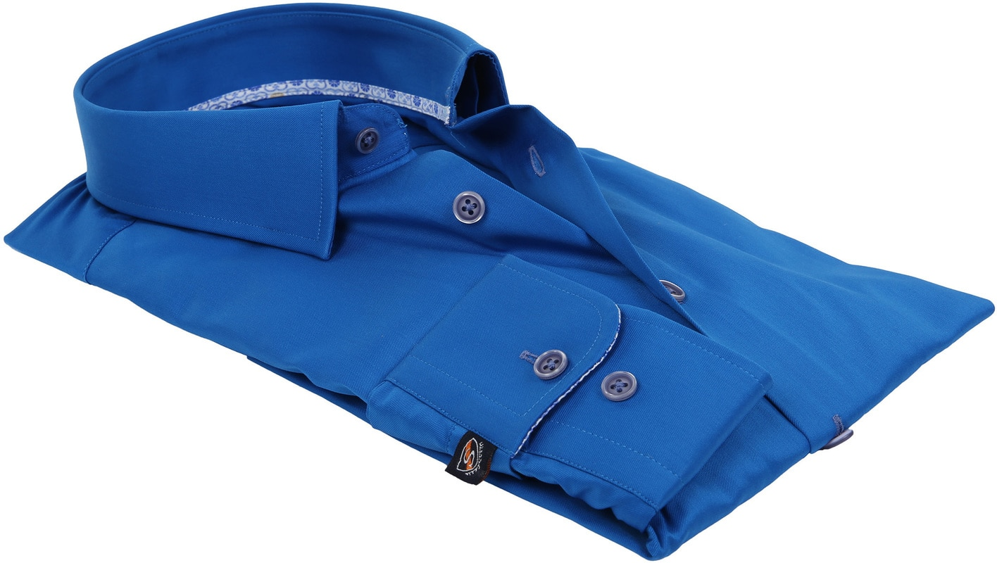 Suitable Overhemd Kobalt 181-3 foto 2