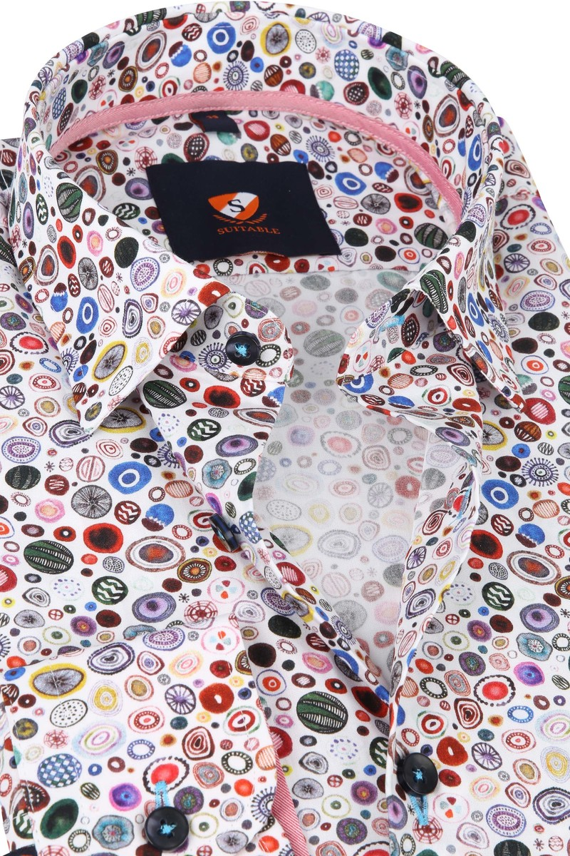 Suitable Overhemd Kristallen Wit foto 1