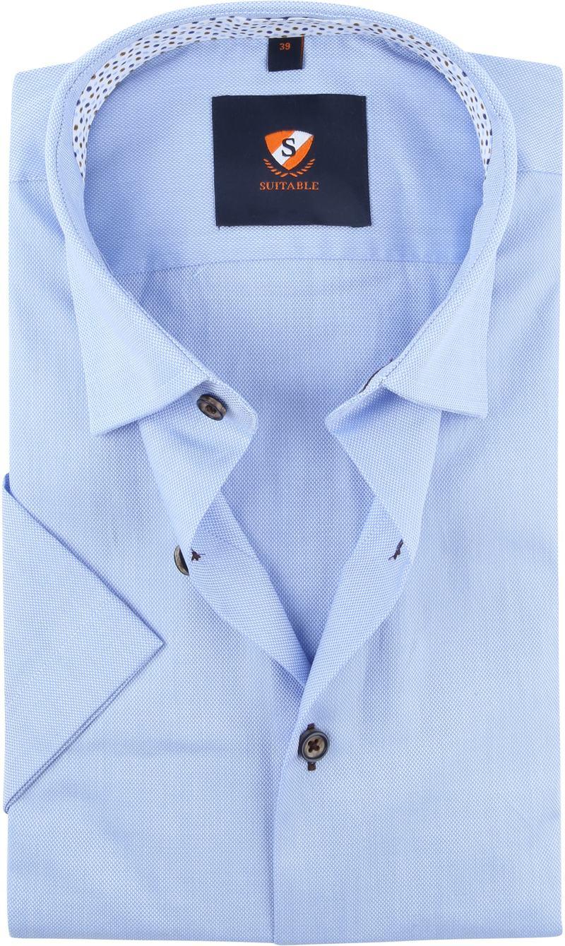 Suitable Overhemd Lichtblauw foto 0
