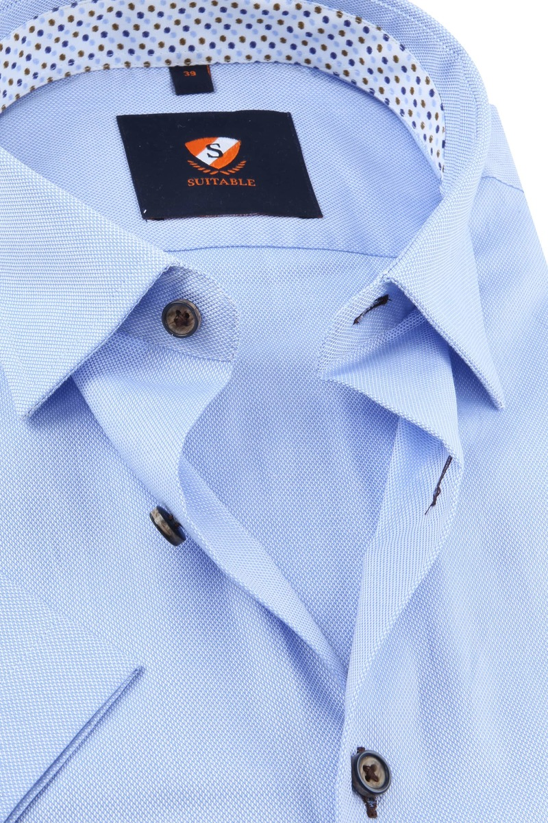 Suitable Overhemd Lichtblauw foto 1