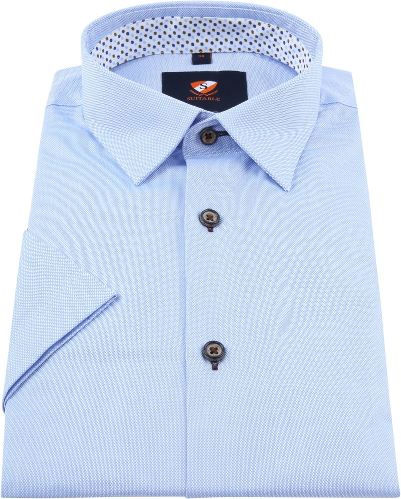 Suitable Overhemd Lichtblauw foto 2