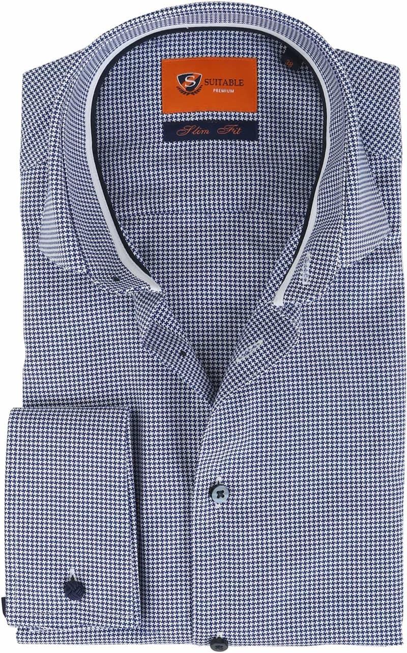 Suitable Overhemd Navy SF  online bestellen | Suitable