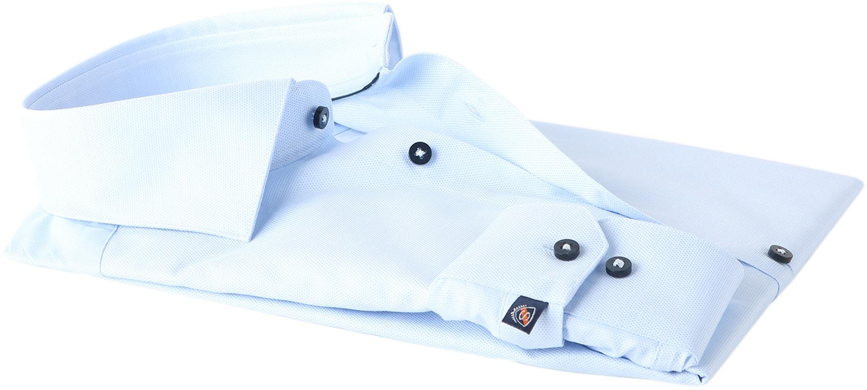 Detail Suitable Overhemd Oxford Blue