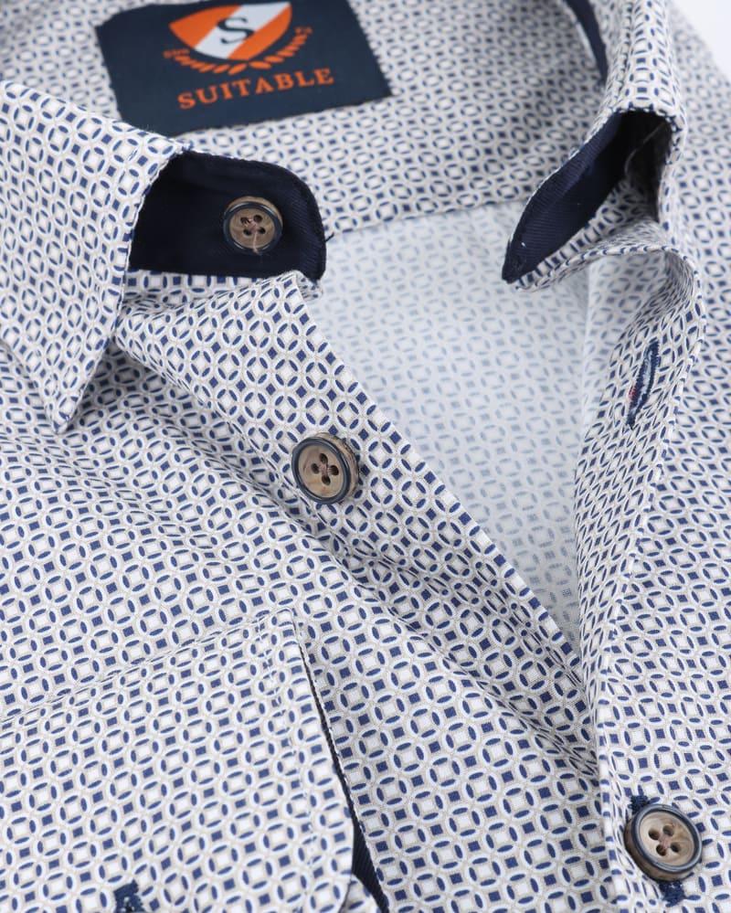 Suitable Overhemd Prince Print HBD foto 3