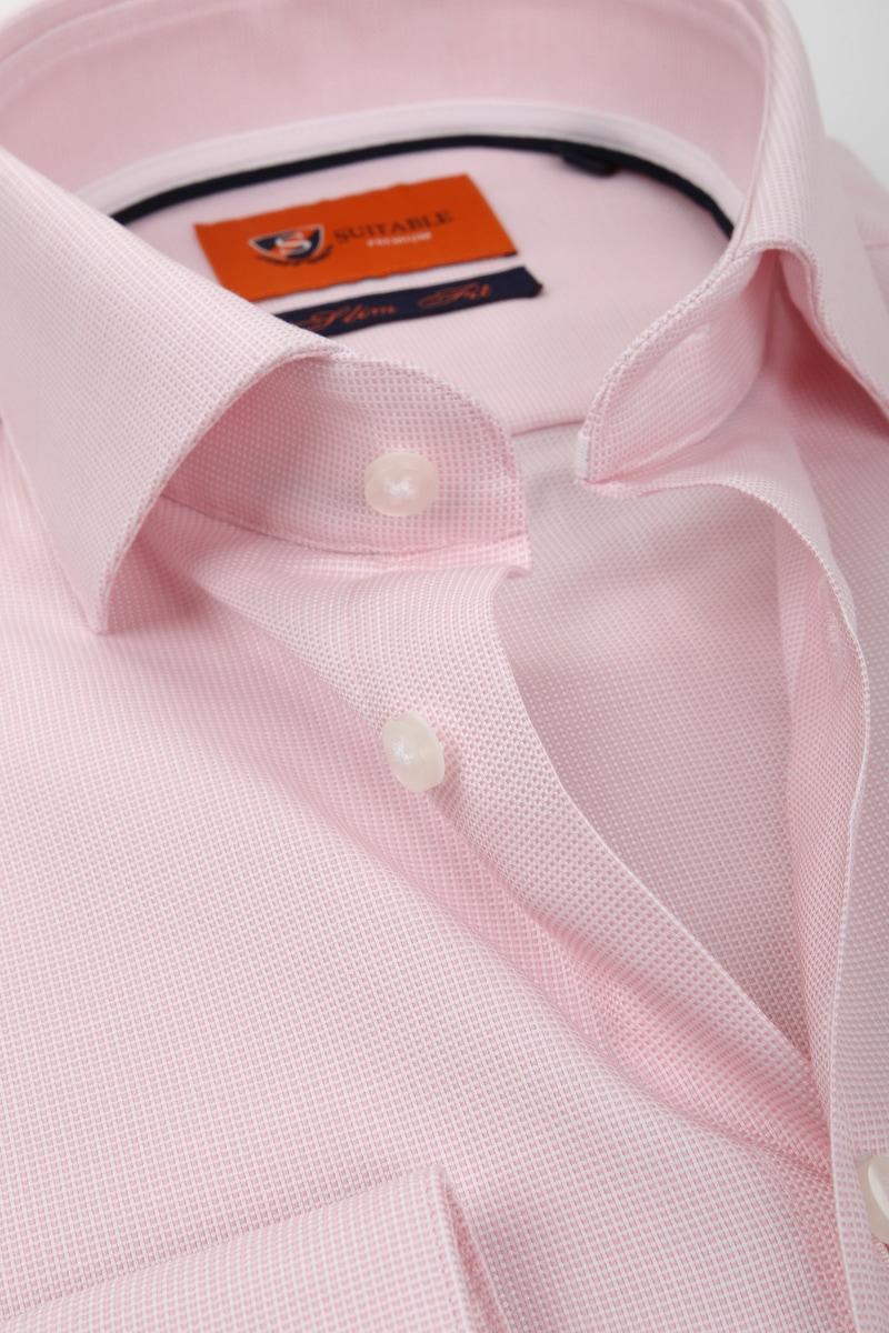 Suitable Overhemd Roze D81-16 foto 1