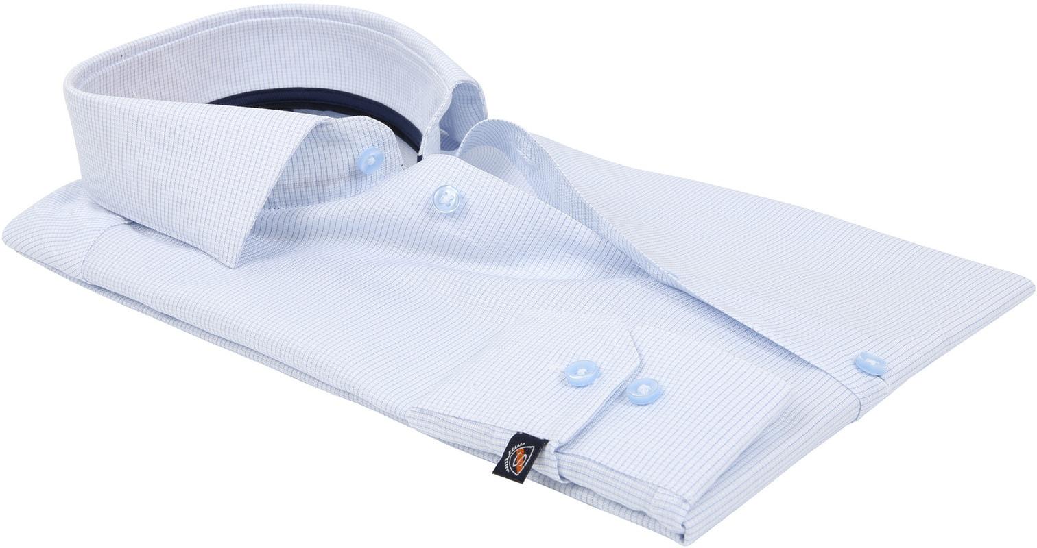 Suitable Overhemd Ruit Blauw D81-07 foto 3