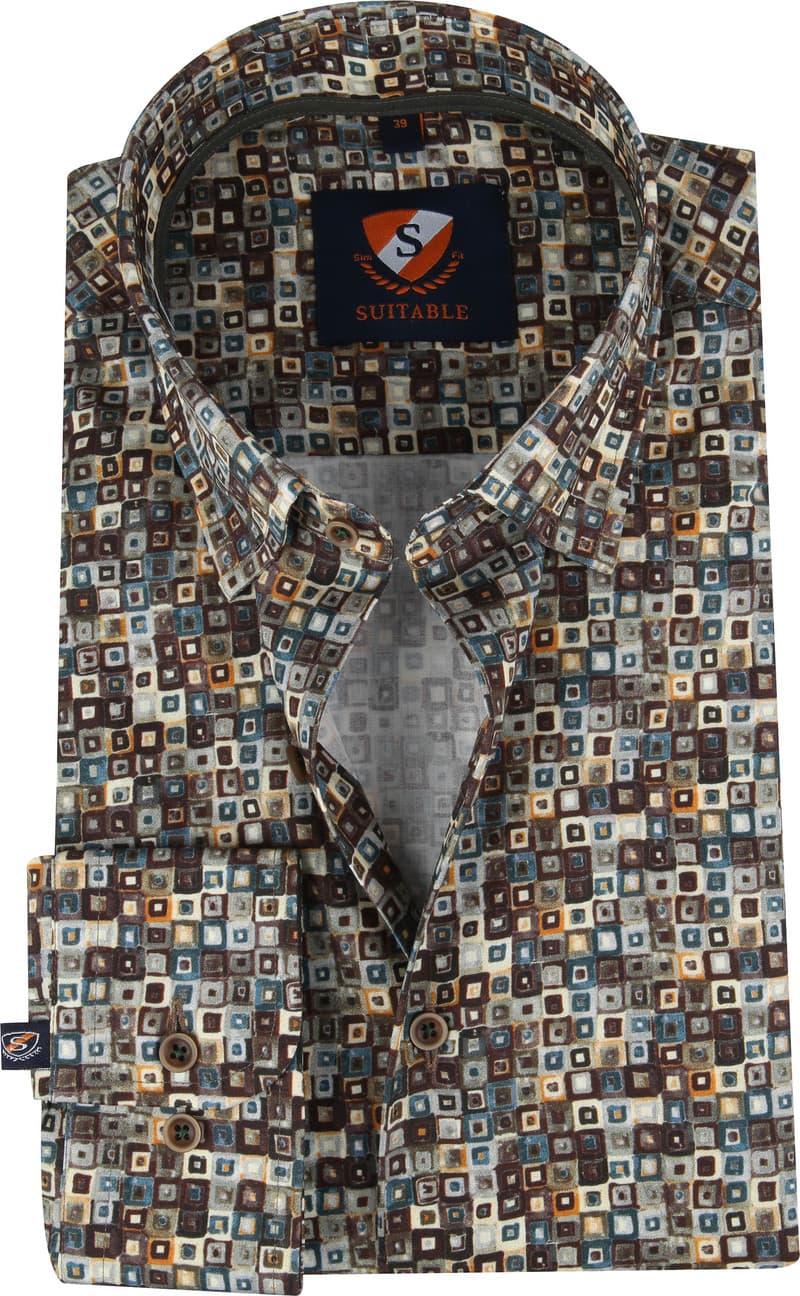 Suitable Overhemd SF Dessin foto 0