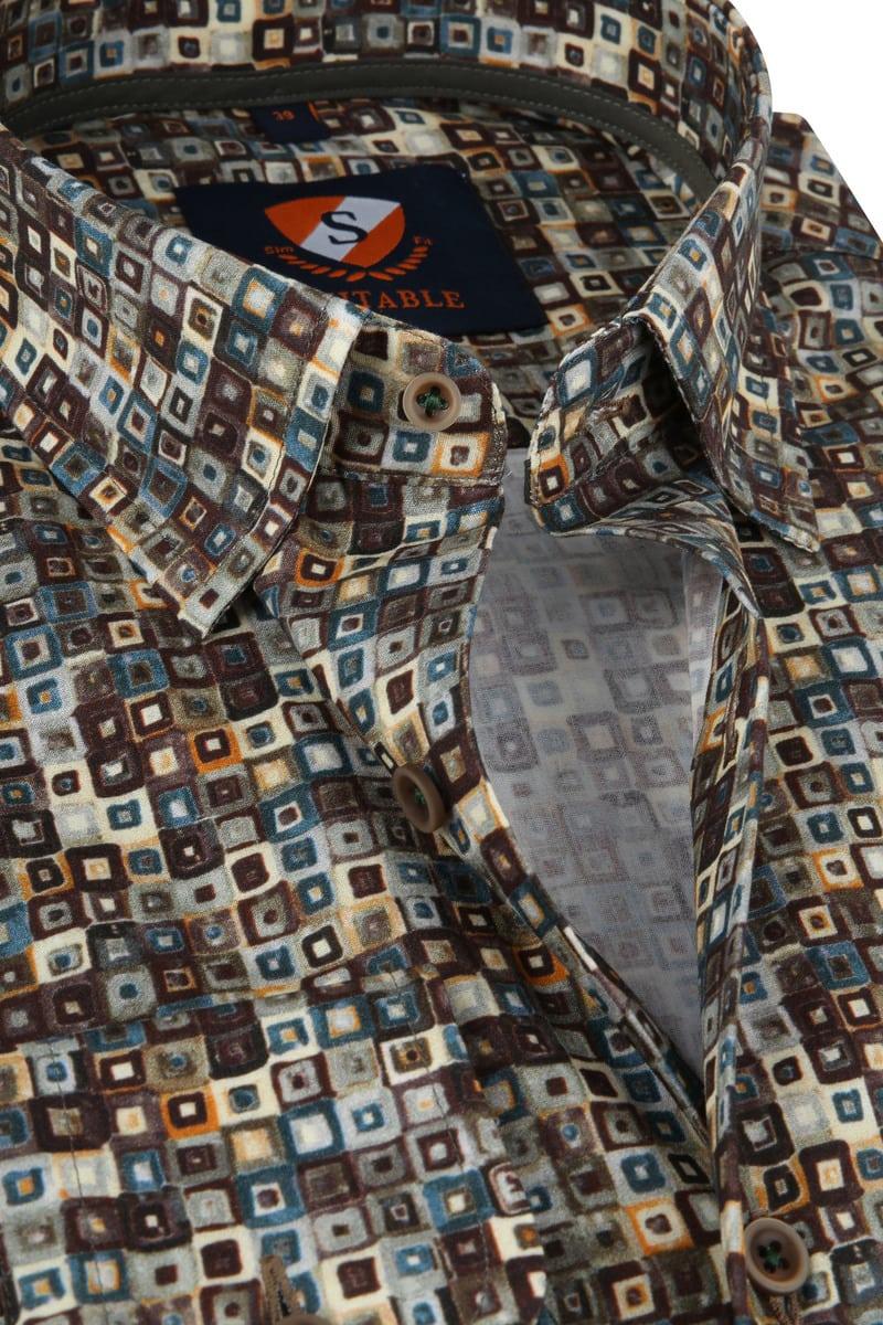 Suitable Overhemd SF Dessin foto 1