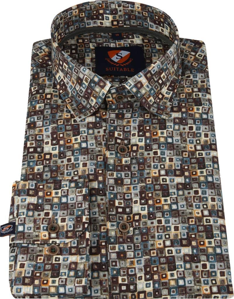 Suitable Overhemd SF Dessin foto 2
