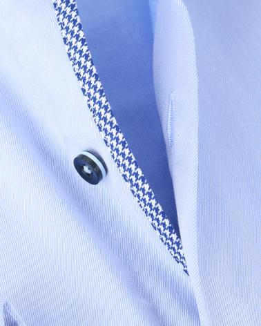 Detail Suitable Overhemd SL7 Blauw 140-2