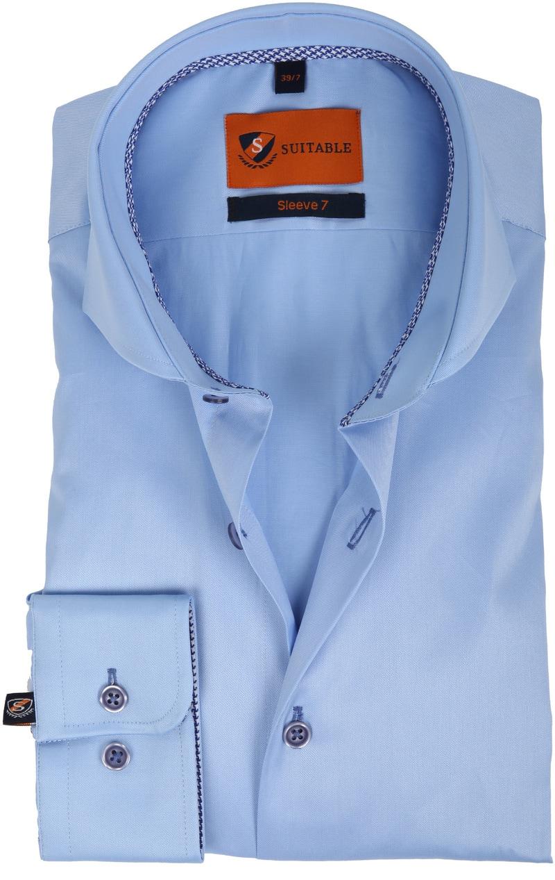 Suitable Overhemd SL7 Blauw 180-2 foto 0