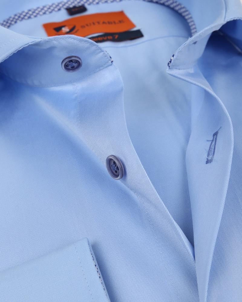 Suitable Overhemd SL7 Blauw 180-2 foto 1