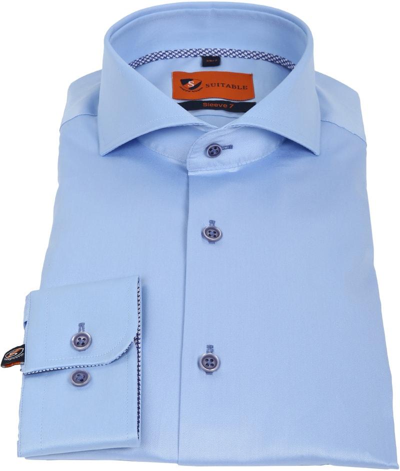 Suitable Overhemd SL7 Blauw 180-2 foto 2