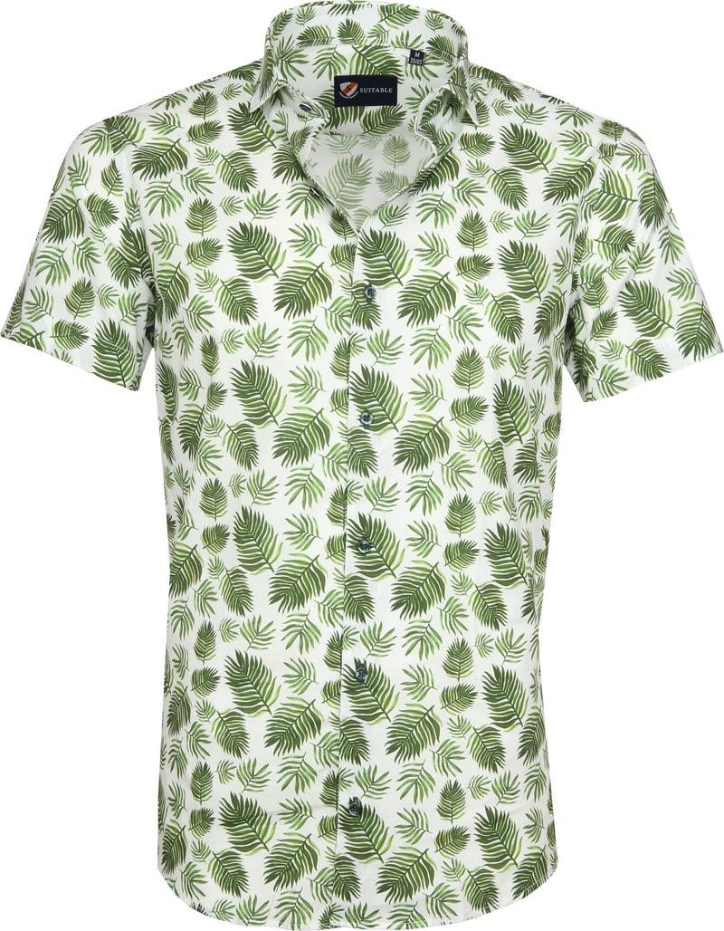Suitable Overhemd SS Varen Groen foto 0