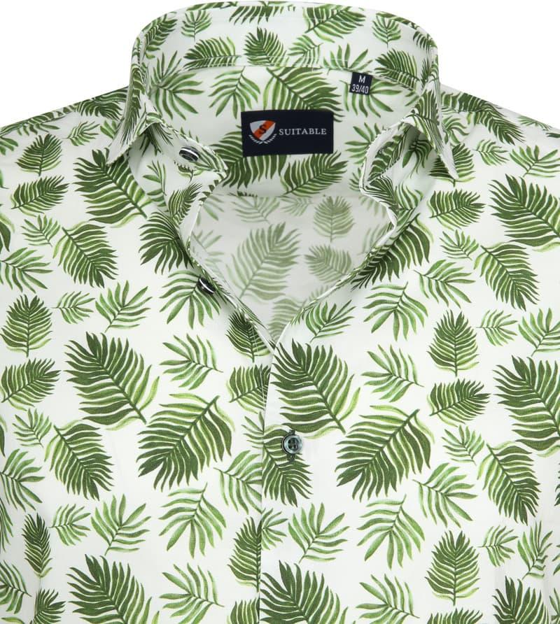Suitable Overhemd SS Varen Groen foto 1