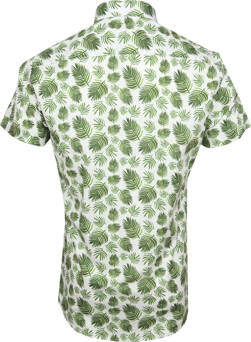 Suitable Overhemd SS Varen Groen foto 3