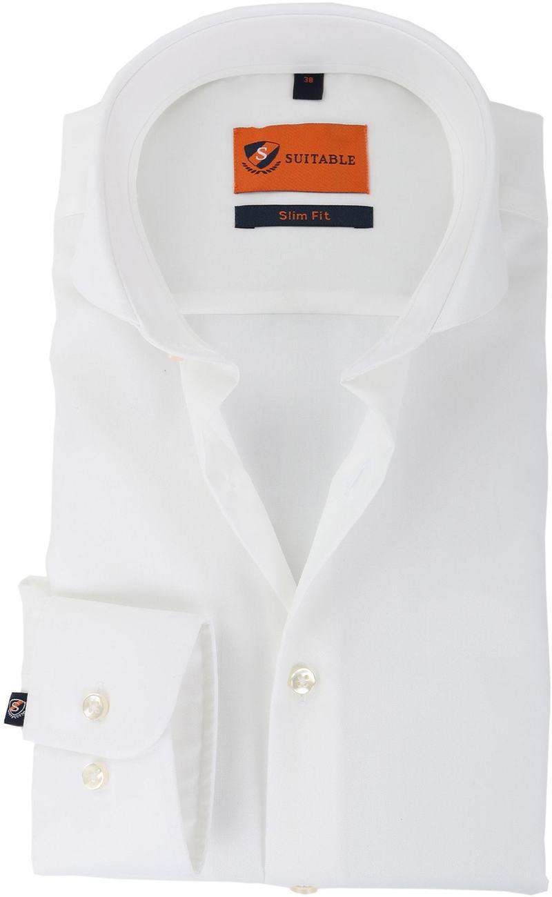 Suitable Overhemd Strijkvrij Wit  online bestellen | Suitable