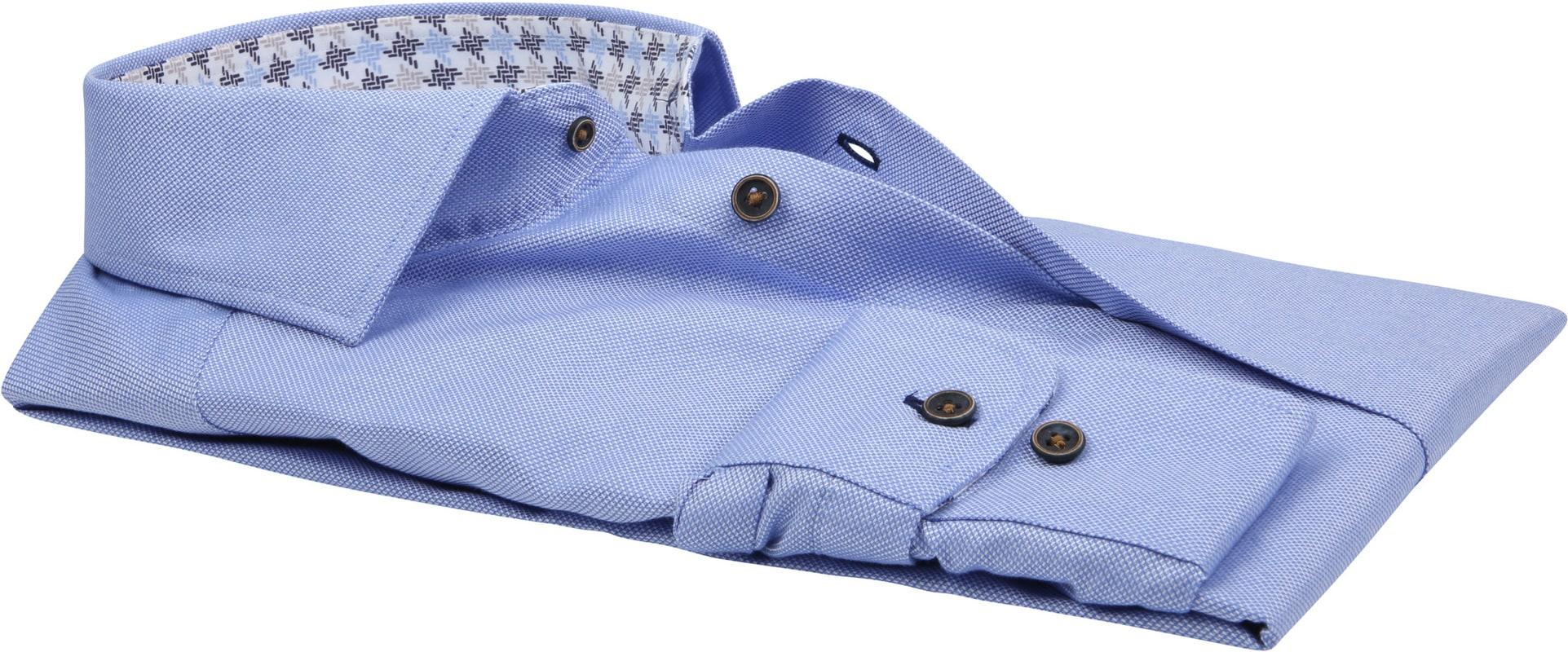 Suitable Overhemd TF Dessin Blauw foto 2
