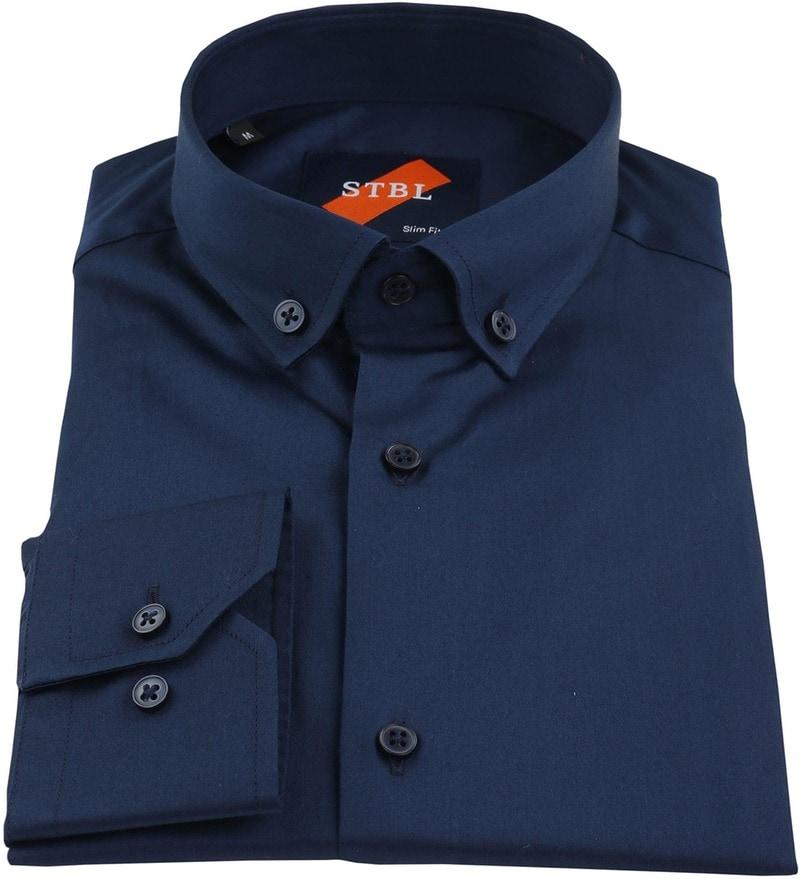 Detail Suitable Overhemd Uni Navy