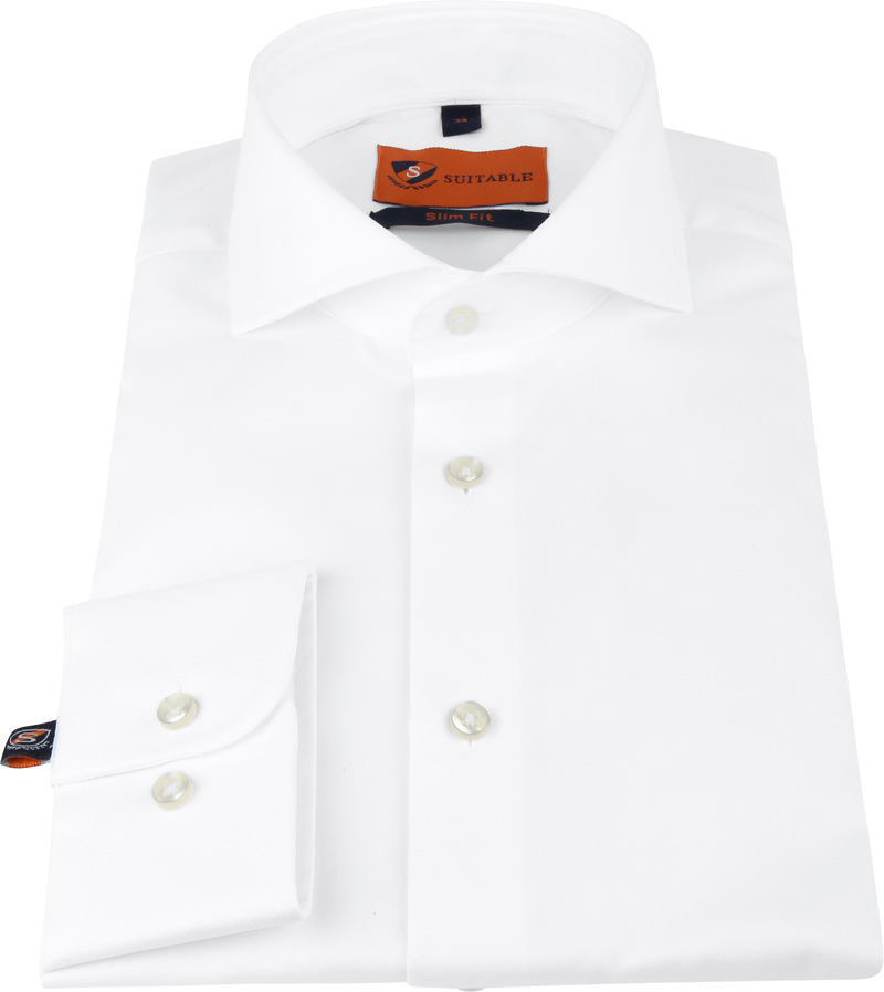 Suitable Overhemd Wit 146-7 foto 2