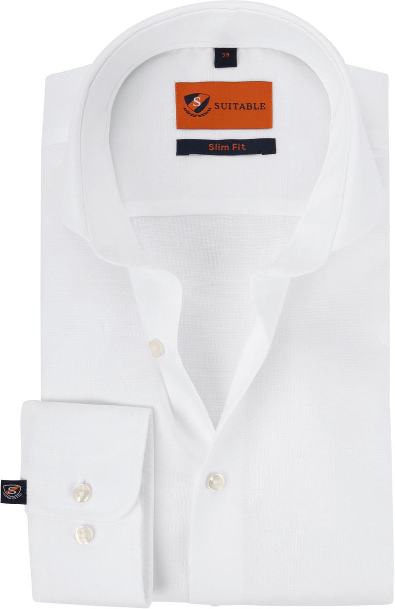 Suitable Overhemd Wit 182 foto 0