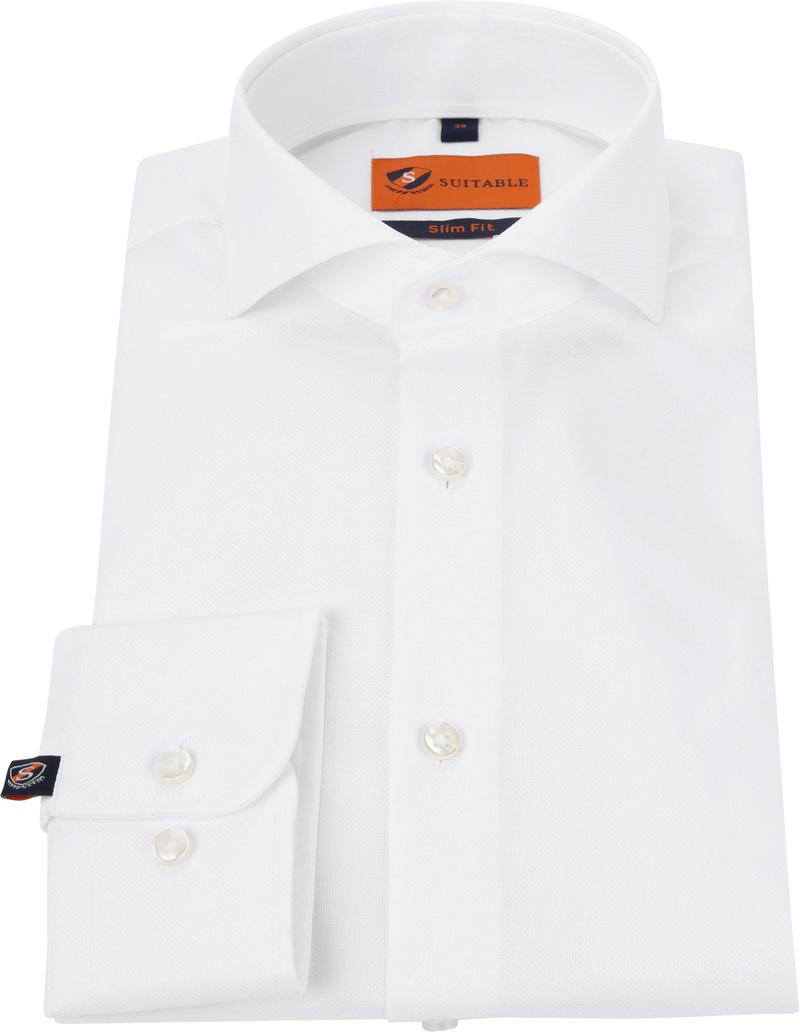 Suitable Overhemd Wit 182 foto 2