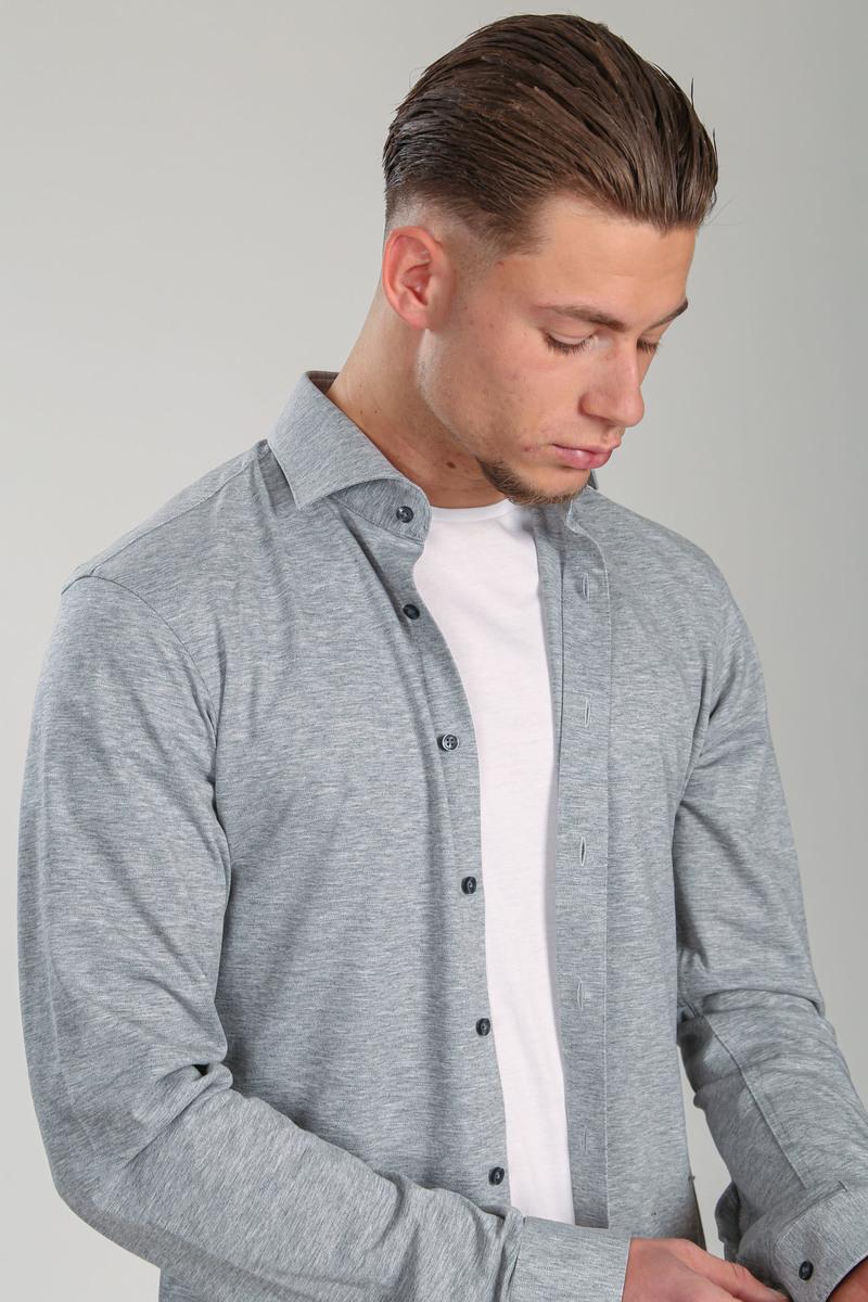 Suitable Overhemd WS KN11 Grijs