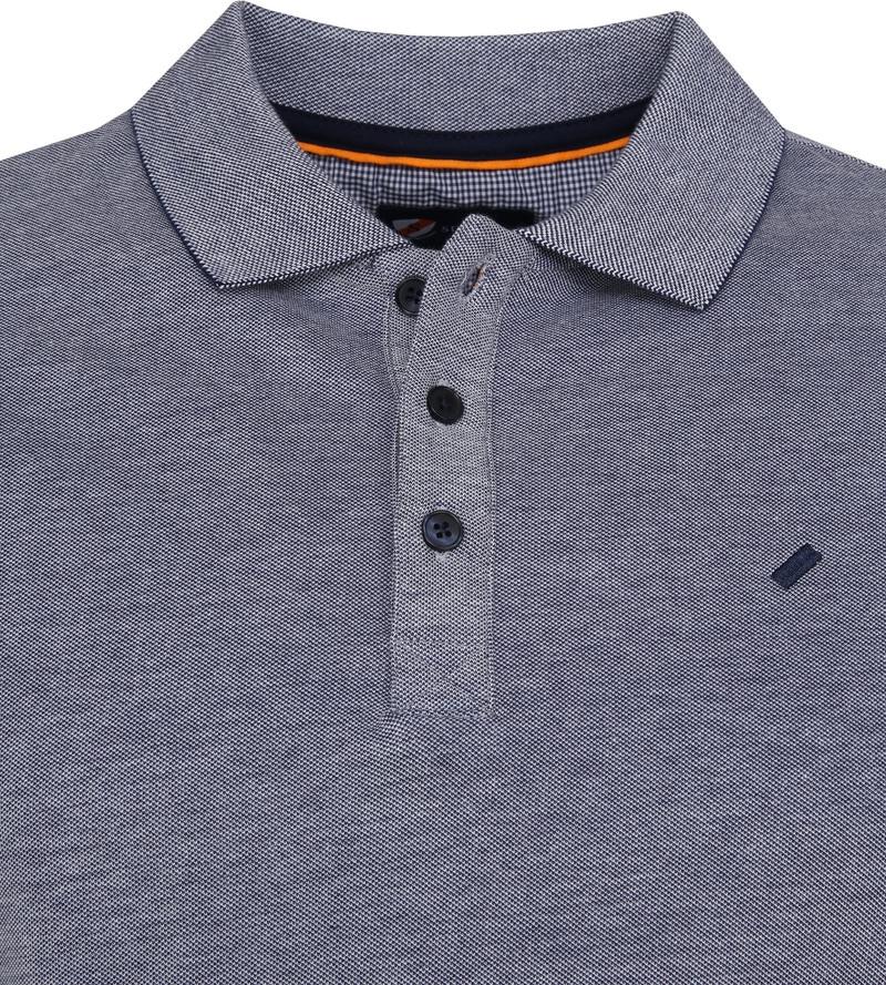 Suitable Oxford Poloshirt Dunkelblau Foto 1