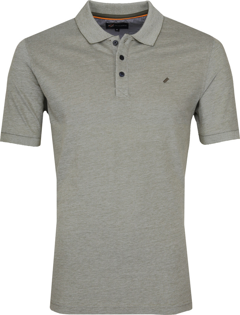 Suitable Oxford Poloshirt Grün Foto 0