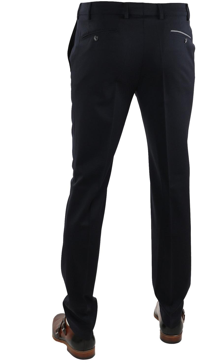 Detail Suitable Pantalon Milano Donkerblauw