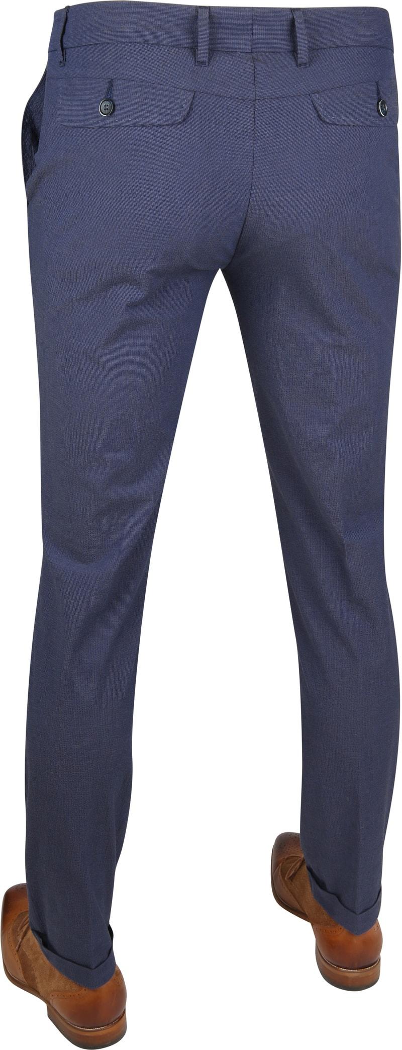 Suitable Pantalon Pisa Dessin Blue photo 3