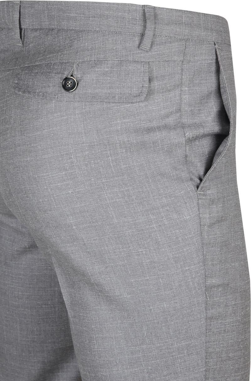 Suitable Pantalon Pisa Melange Grau Foto 4
