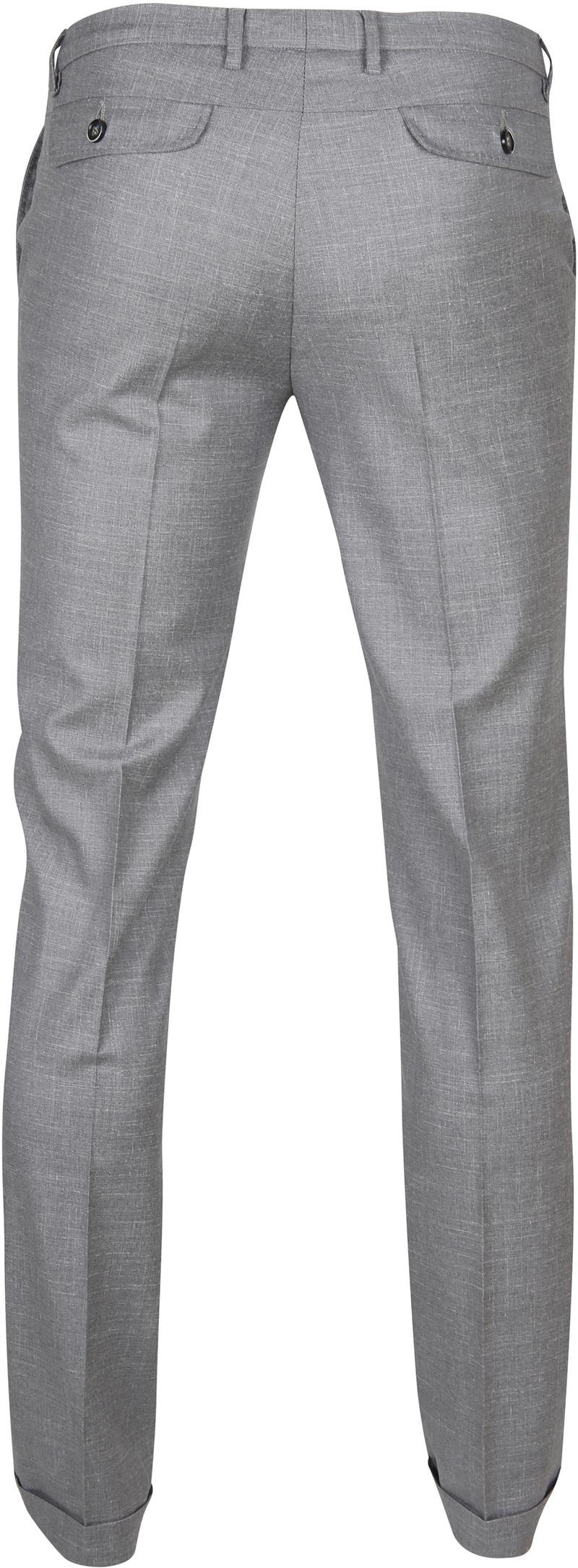 Suitable Pantalon Pisa Melange Grau Foto 5
