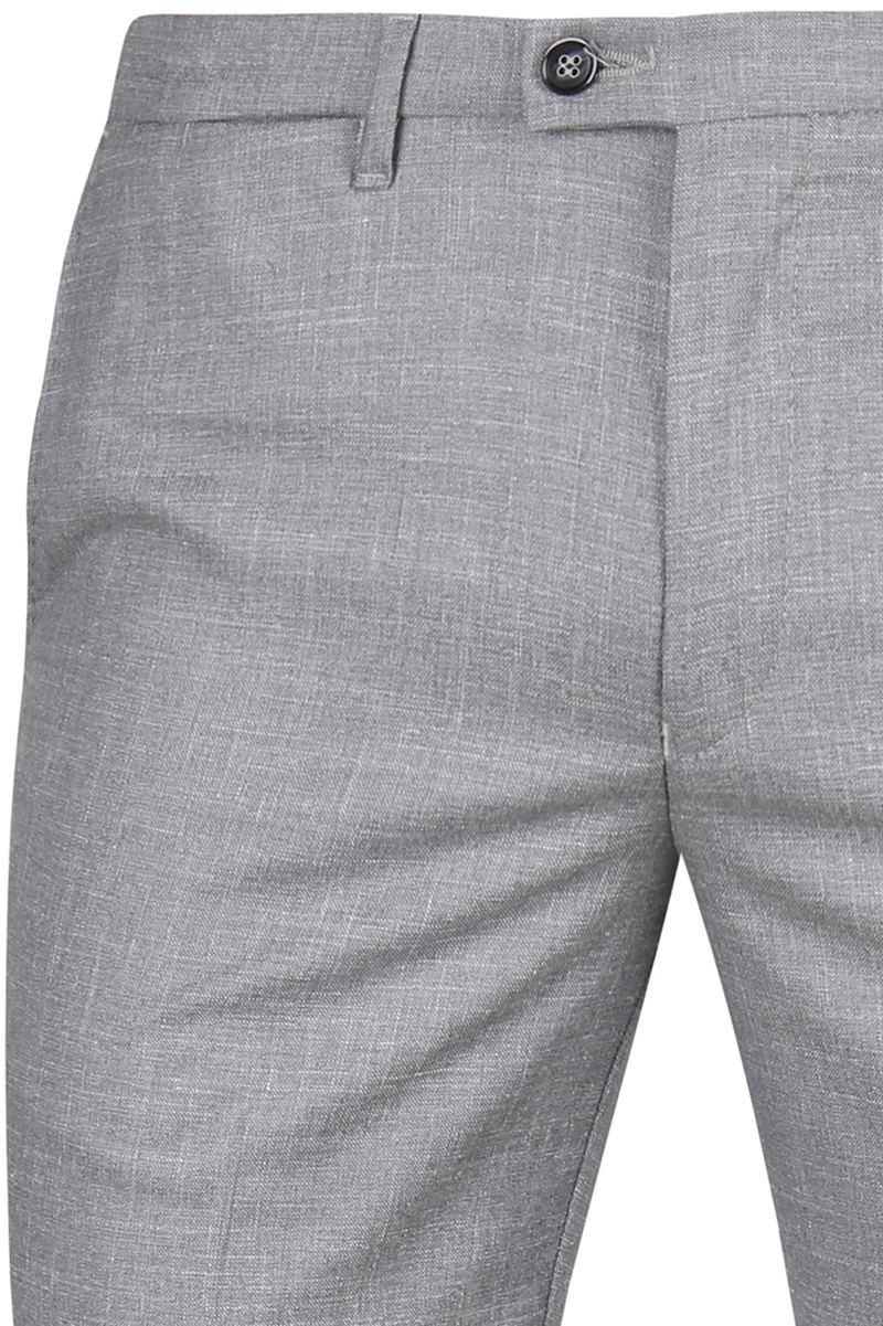 Suitable Pantalon Pisa Melange Grey photo 1