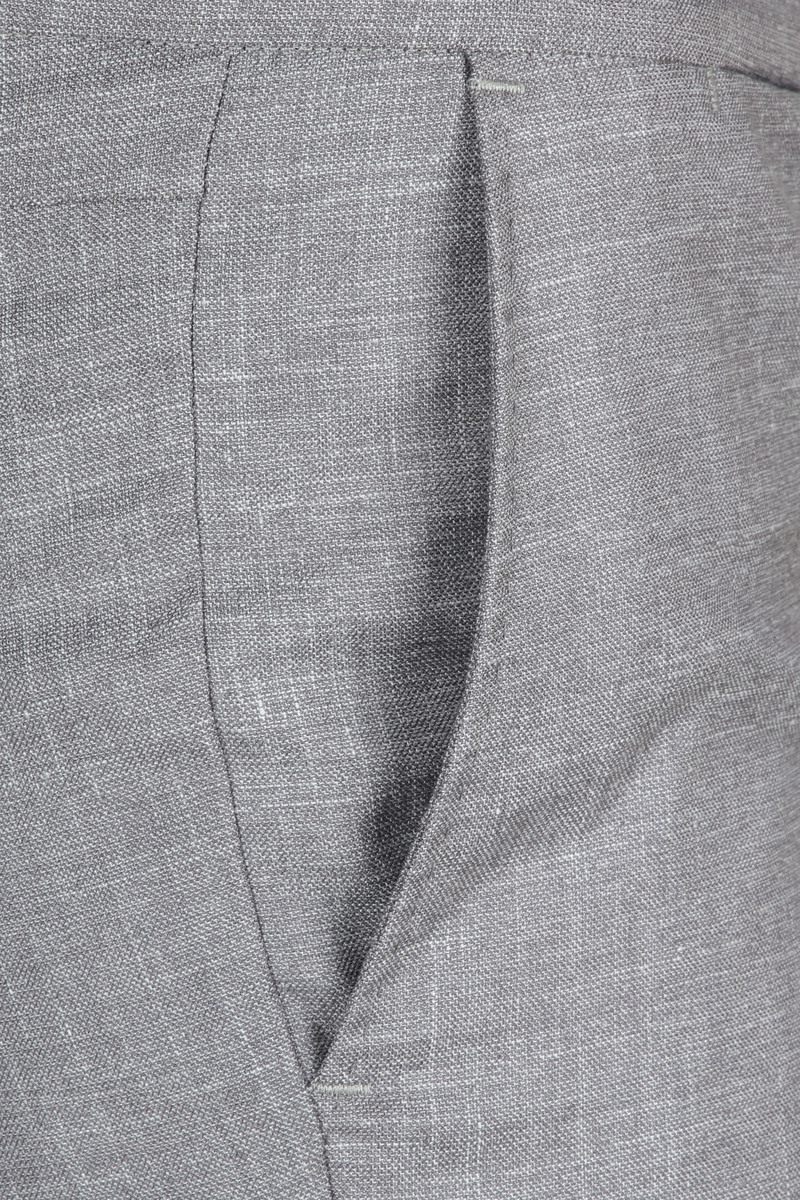 Suitable Pantalon Pisa Melange Grey photo 3